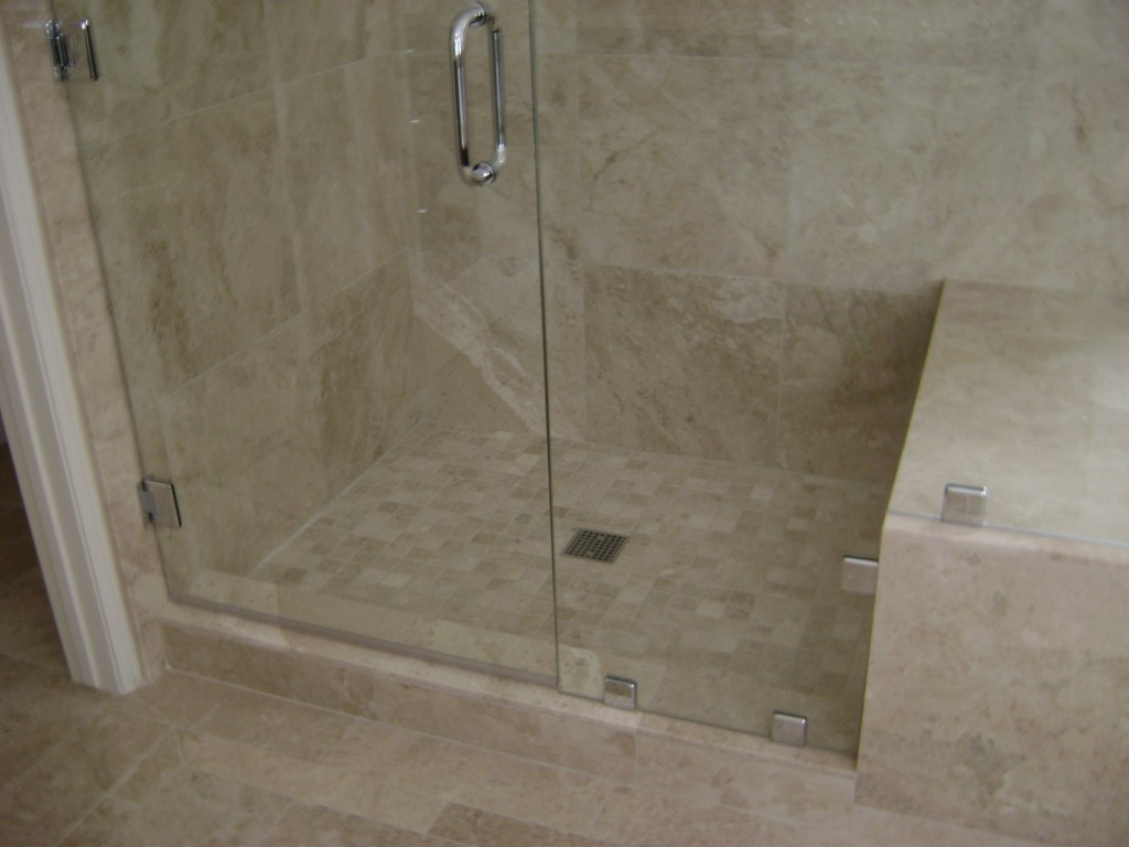 Marble Shower Detail